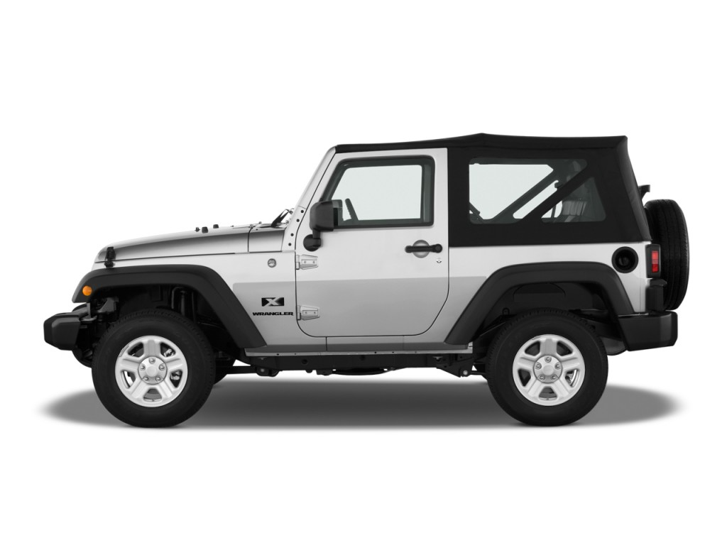 image 2009 jeep wrangler 4wd 2 door x side exterior view. Black Bedroom Furniture Sets. Home Design Ideas
