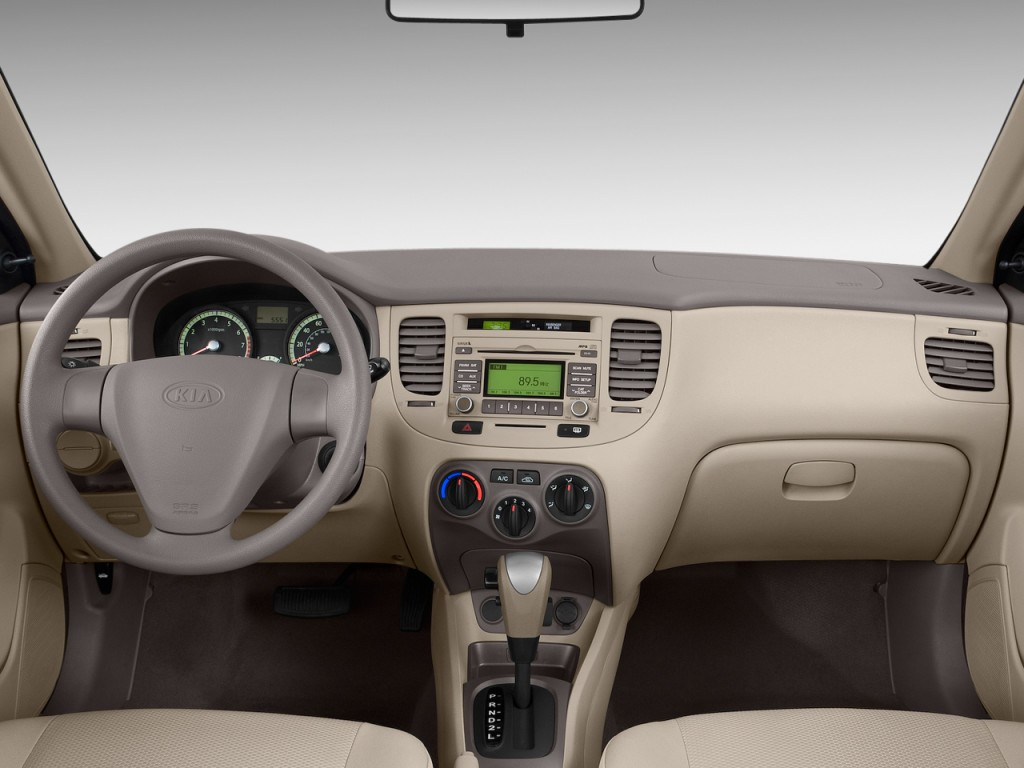 Image: 2009 Kia Rio 4-door Sedan Auto LX Dashboard, size ...