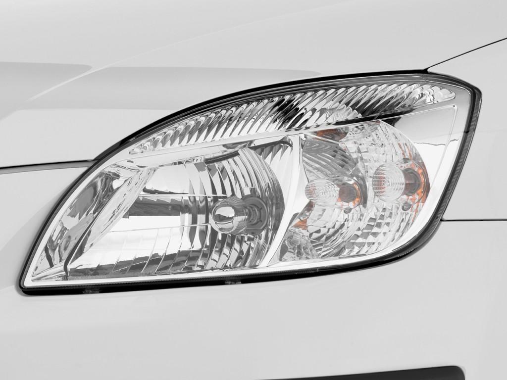 Image 2009 Kia Rio 4 Door Sedan Auto Lx Headlight Size