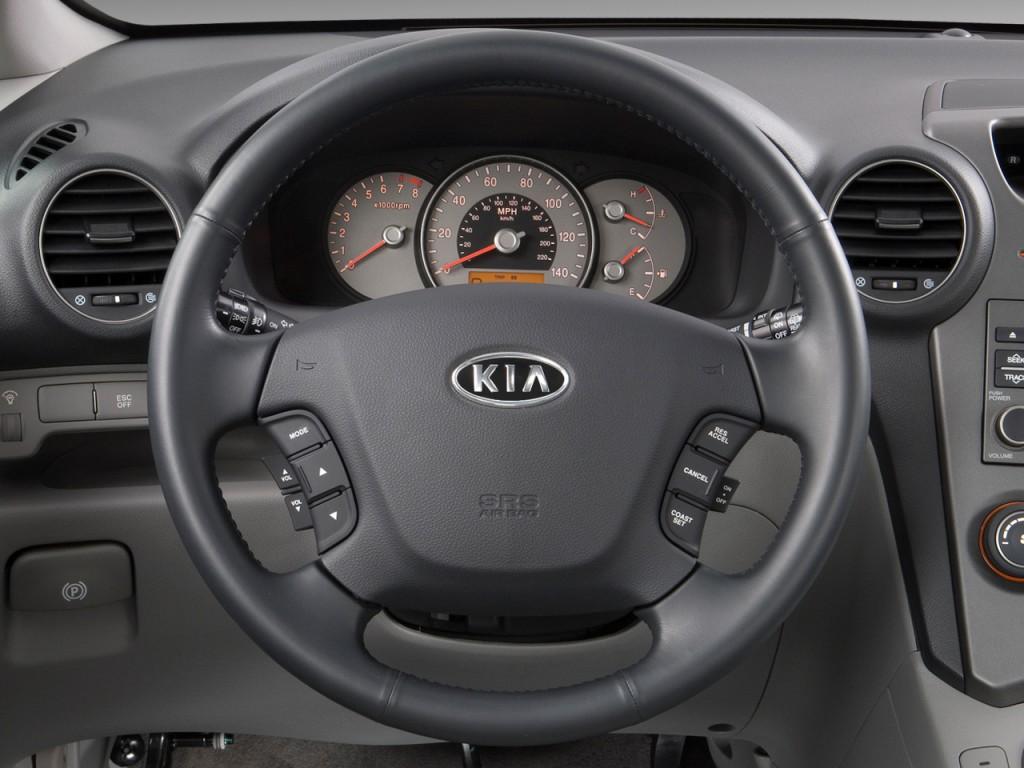 image 2009 kia rondo 4 door wagon v6 ex steering wheel. Black Bedroom Furniture Sets. Home Design Ideas