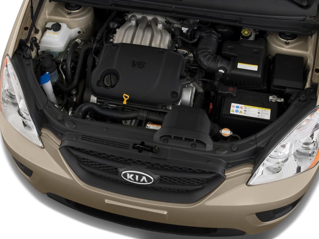 Image 2009 Kia Rondo 4 Door Wagon V6 Lx Engine Size