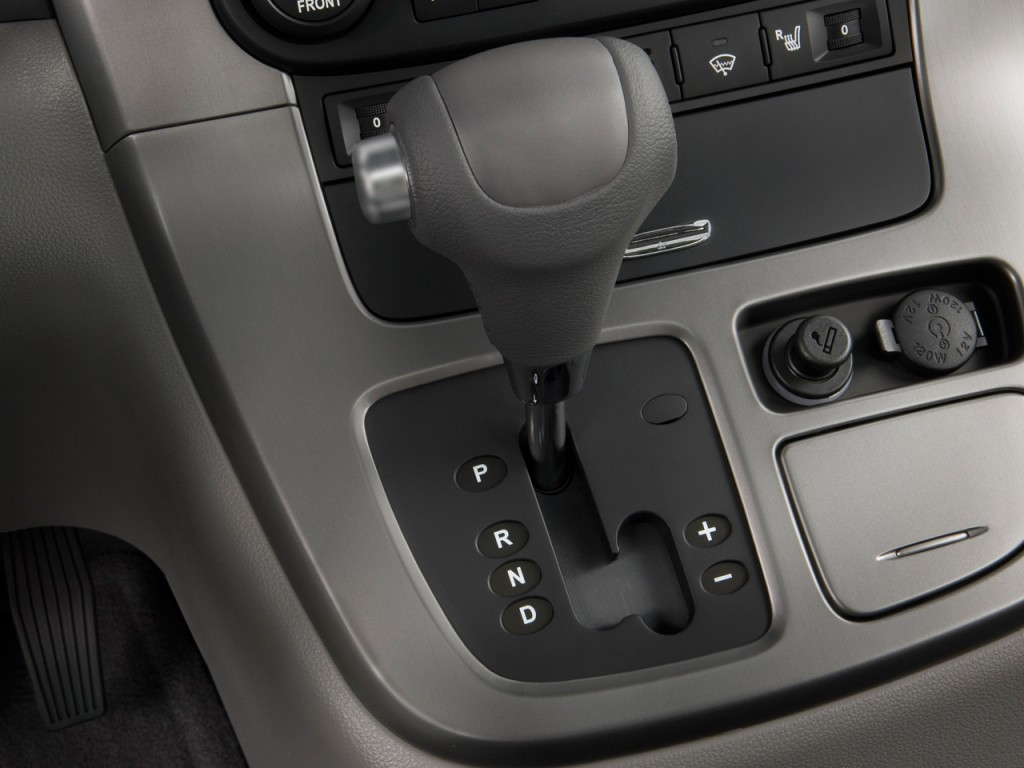 Image: 2009 Kia Sedona 4-door LWB EX Gear Shift, size ...