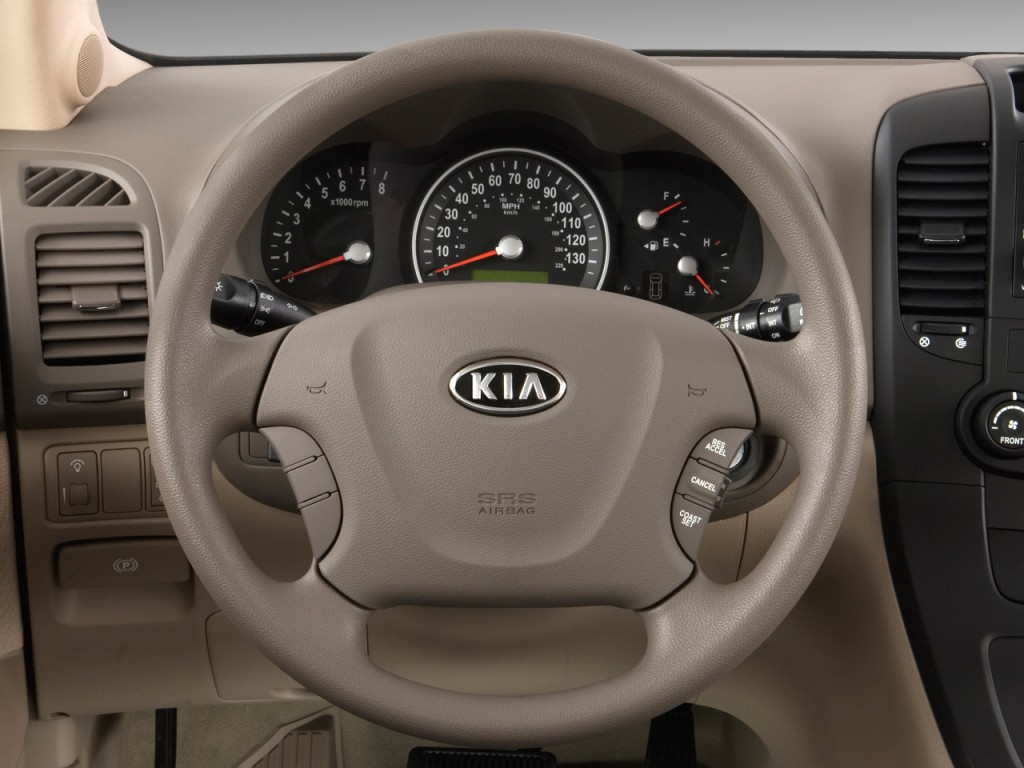 image 2009 kia sedona 4 door lwb lx steering wheel size. Black Bedroom Furniture Sets. Home Design Ideas