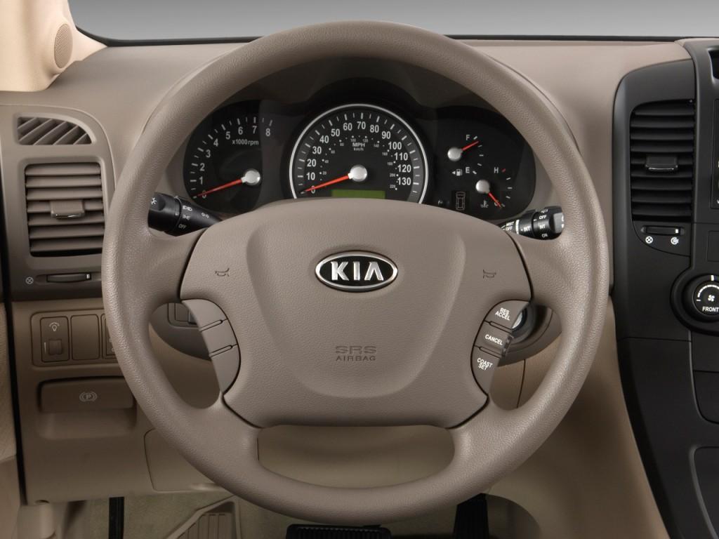 image 2009 kia sedona 4 door lwb lx steering wheel size. Black Bedroom Furniture Sets. Home Design Ideas