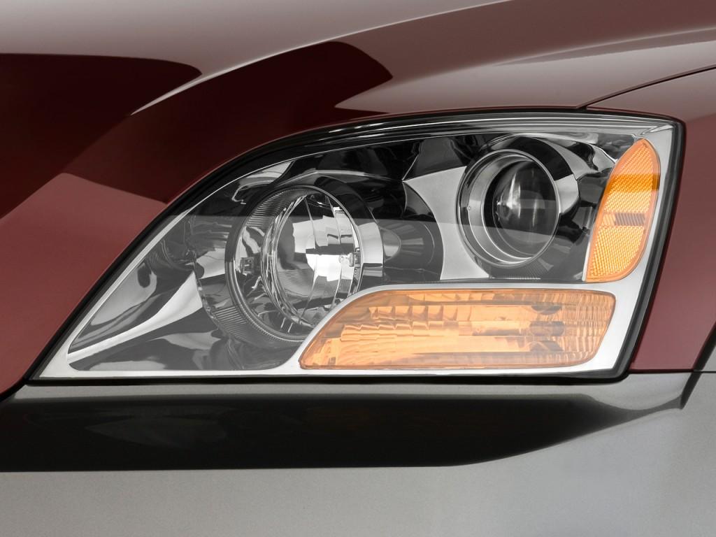 2009 Kia Sorento 4WD 4-door EX Headlight