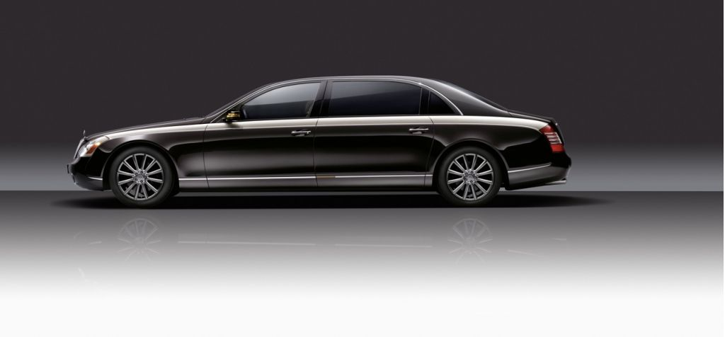 2009 Geneva Show: Maybach Zeppelin Begs for Hydrogen, No?