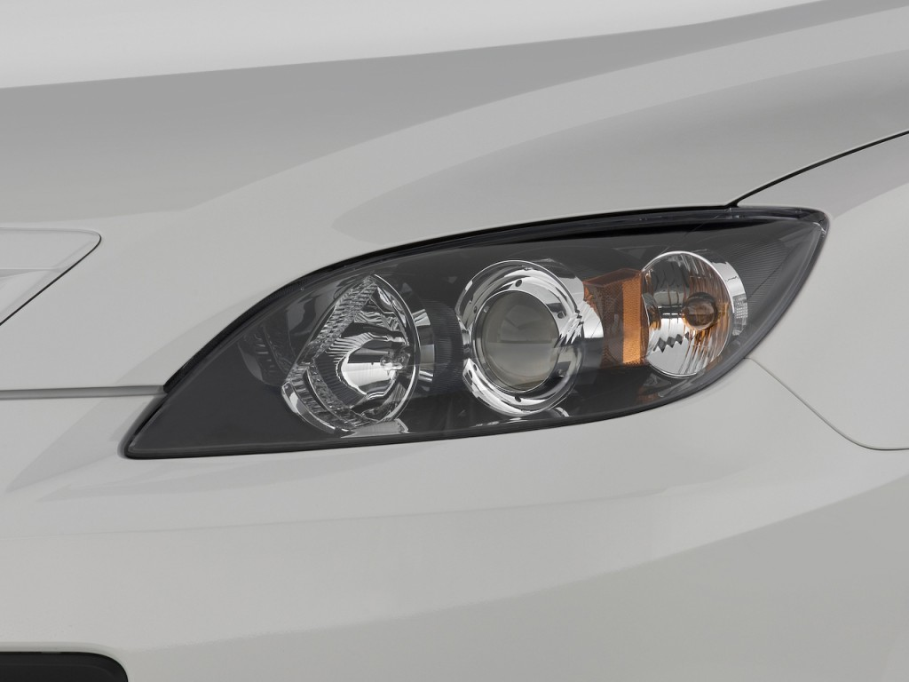 Image 2009 Mazda Mazda3 5dr Hb Man S Sport Headlight Size 1024 X 768 Type Gif Posted On