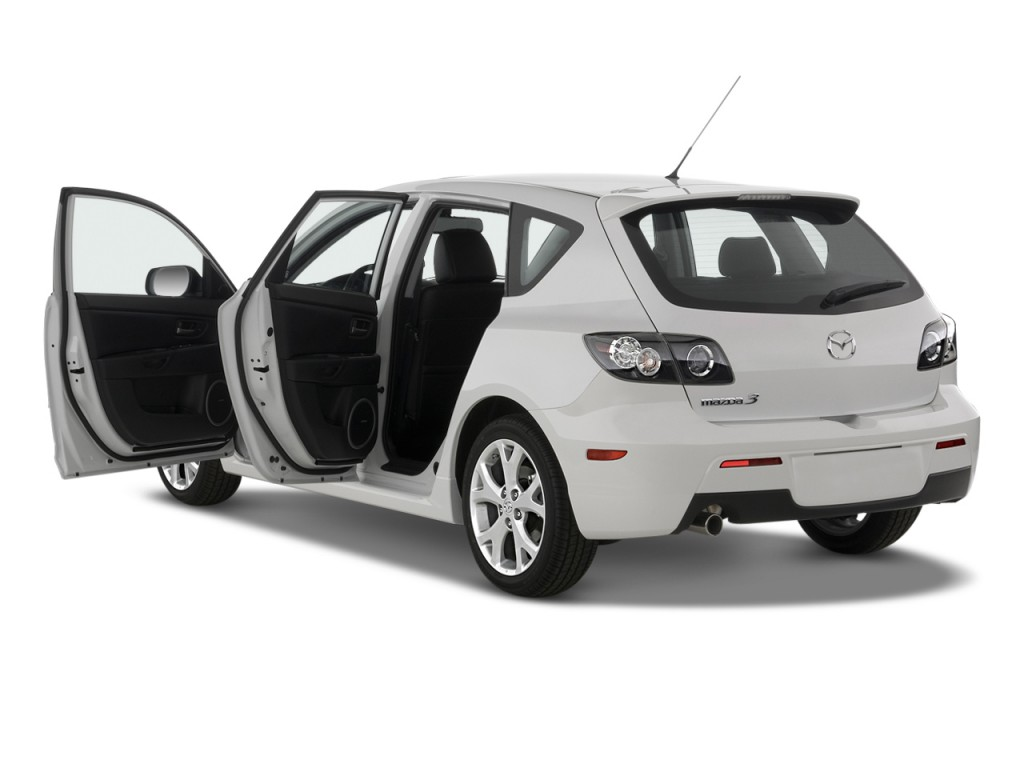 image 2009 mazda mazda3 5dr hb man s sport open doors. Black Bedroom Furniture Sets. Home Design Ideas
