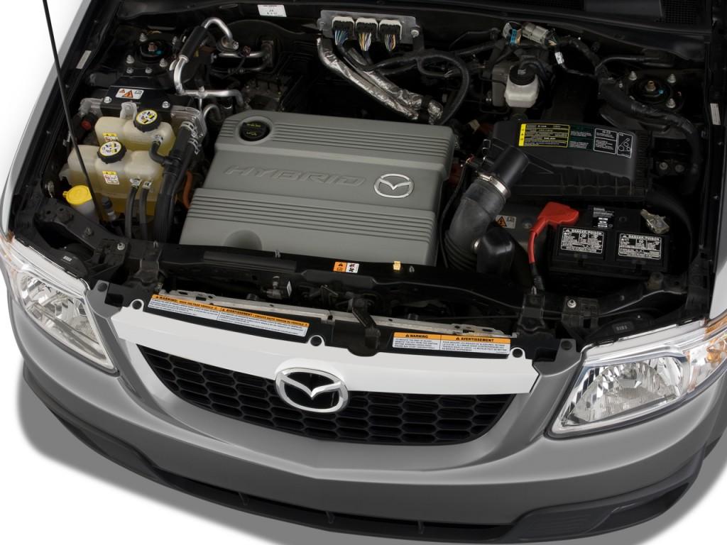 Image 2009 Mazda Tribute Fwd I4 Hybrid Touring Engine