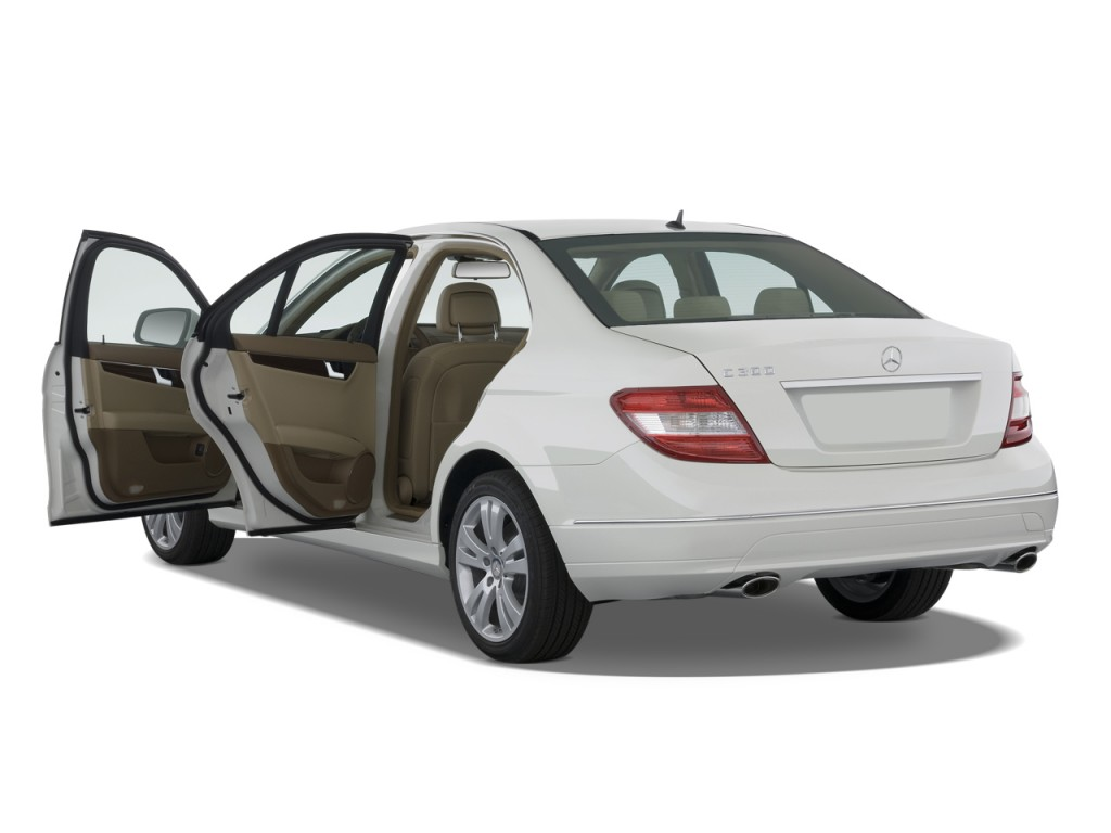 image 2009 mercedes benz c class 4 door sedan 3 0l luxury. Black Bedroom Furniture Sets. Home Design Ideas