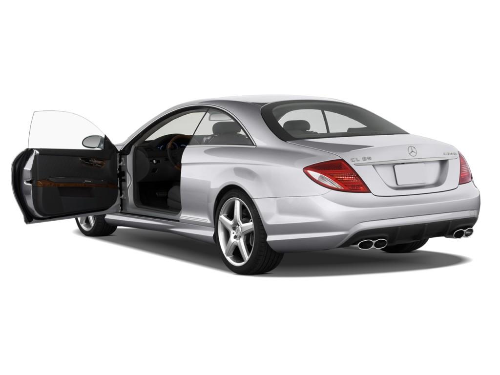 Image 2009 mercedes benz cl class 2 door coupe 6 0l v12 amg rwd open doors size 1024 x 768 - Mercedes benz coupe 2009 ...