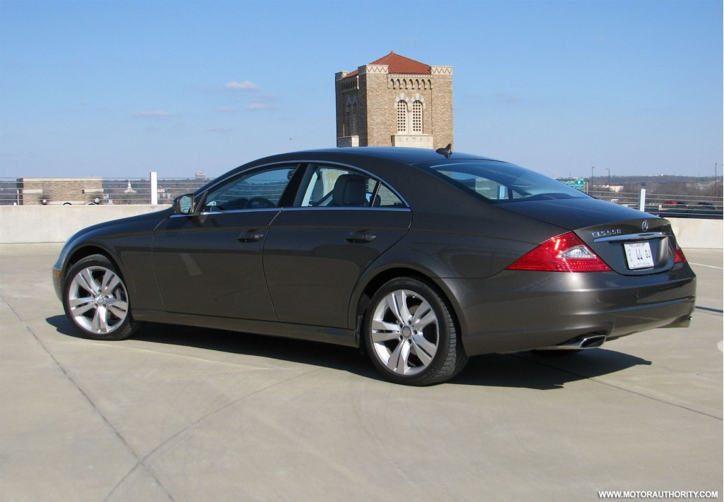 Image gallery mercedes benz cls 550 2006 for Mercedes benz cls550 review