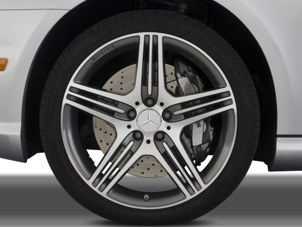 Image 2009 mercedes benz cls class 4 door sedan 6 3l amg for Mercedes benz 6 wheel