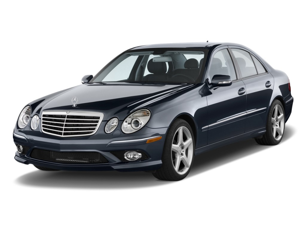 Image 2009 mercedes benz e class 4 door sedan luxury 3 5l for Mercedes benz 4 door