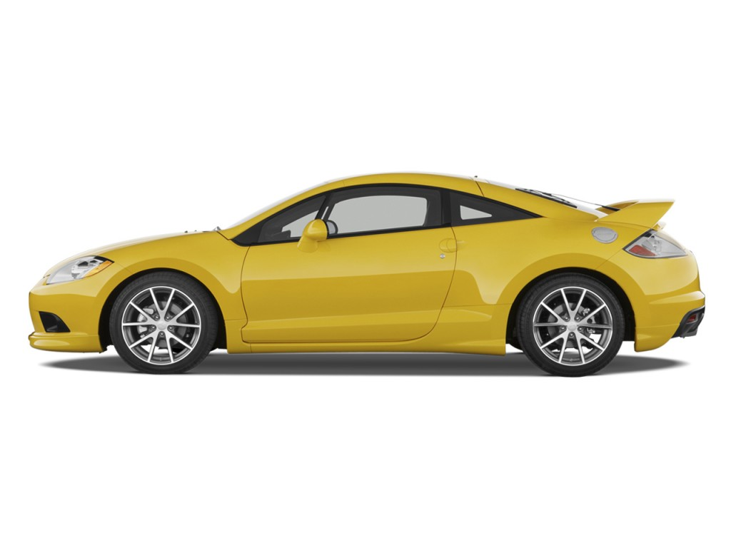 Image 2009 Mitsubishi Eclipse 3dr Coupe Auto Gt Side Exterior View Size 1024 X 768 Type Gif