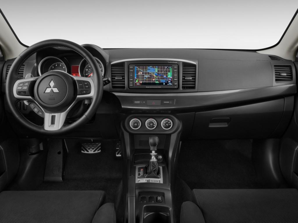 Image 2009 Mitsubishi Lancer 4 Door Sedan Tc Sst Ralliart Dashboard Size 1024 X 768 Type
