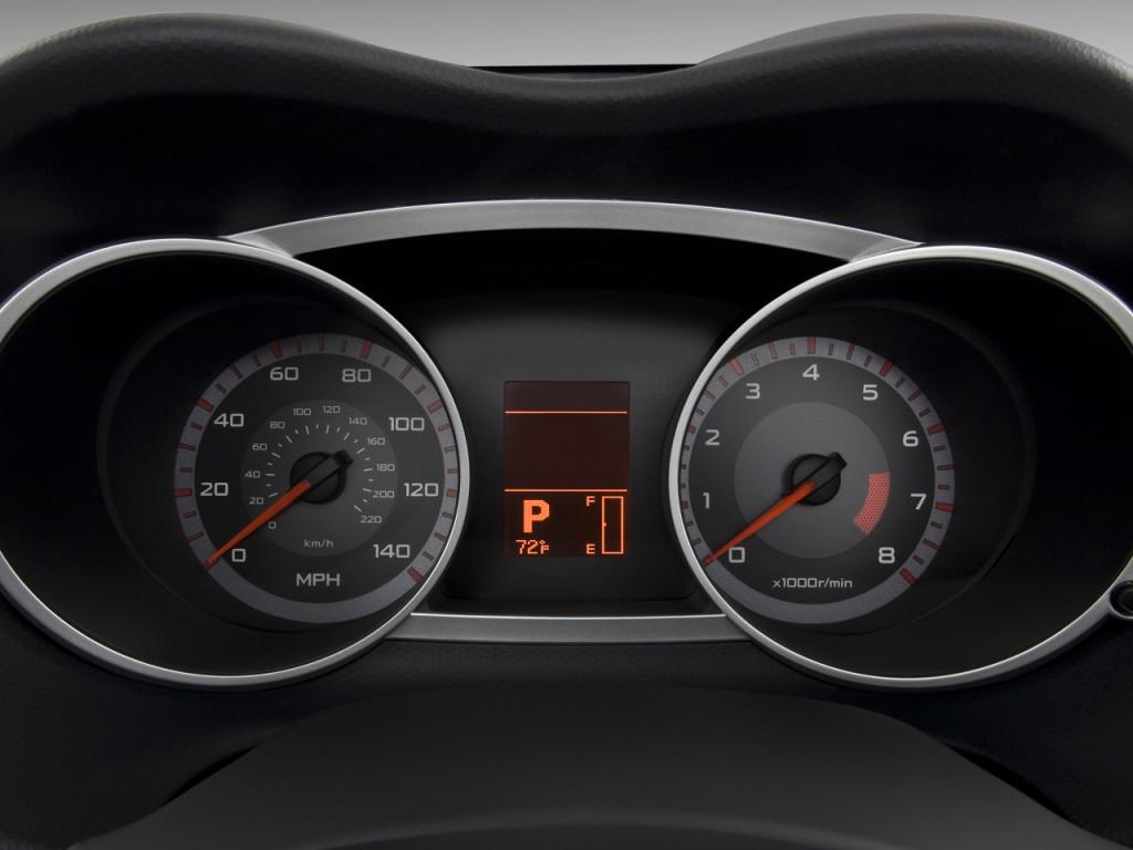 Image: 2009 Mitsubishi Outlander 2WD 4-door SE Instrument Cluster, size: 1024 x 768, type: gif ...