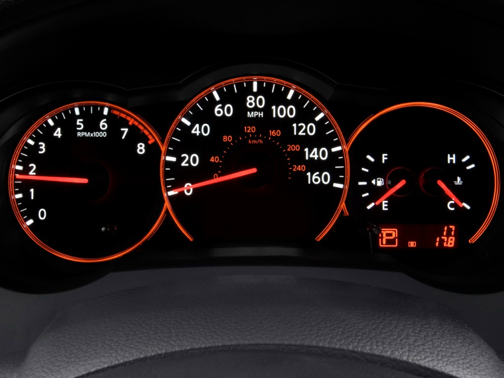 2004 Nissan 350Z Coupe >> Image: 2009 Nissan Altima 4-door Sedan I4 CVT Instrument Cluster, size: 1024 x 768, type: gif ...