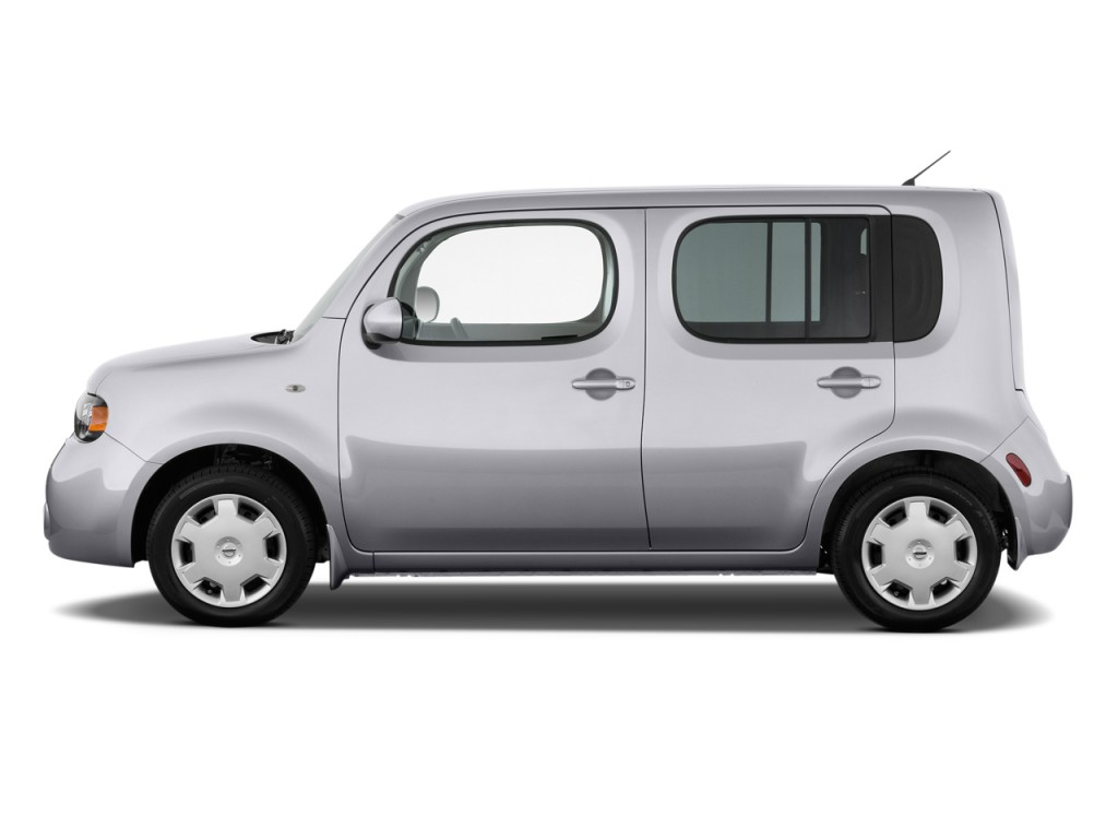 image 2009 nissan cube 5dr wagon cvt s side exterior view size 1024 x 768 type gif posted. Black Bedroom Furniture Sets. Home Design Ideas
