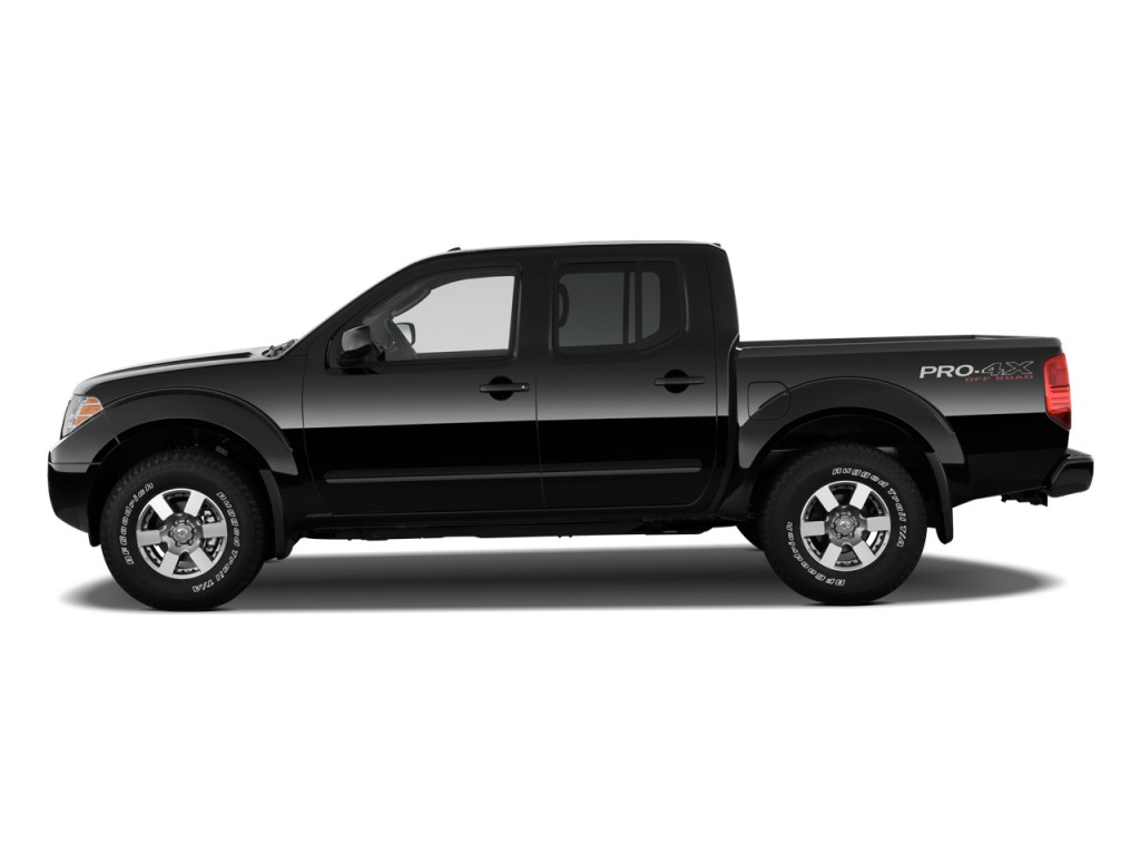 image 2009 nissan frontier 4wd crew cab swb auto pro 4x side exterior view size 1024 x 768. Black Bedroom Furniture Sets. Home Design Ideas