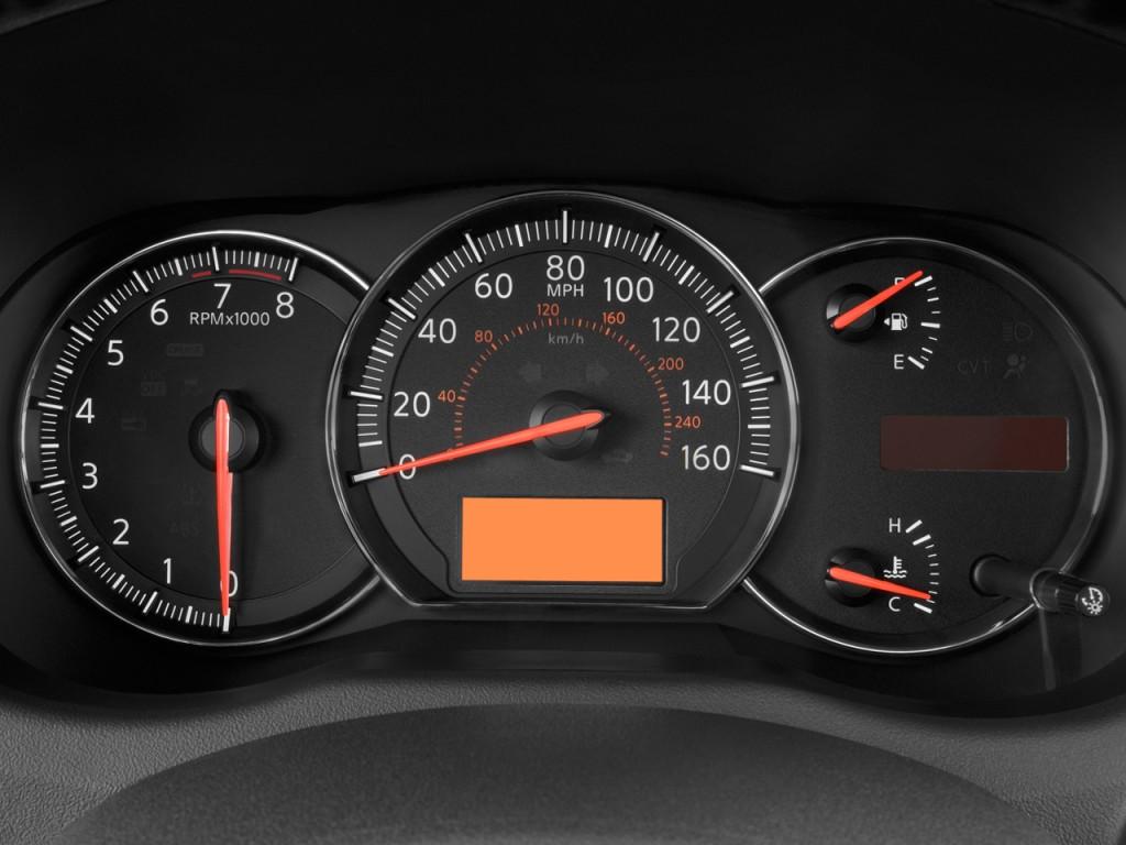 Image: 2009 Nissan Maxima 4-door Sedan SV Instrument ...