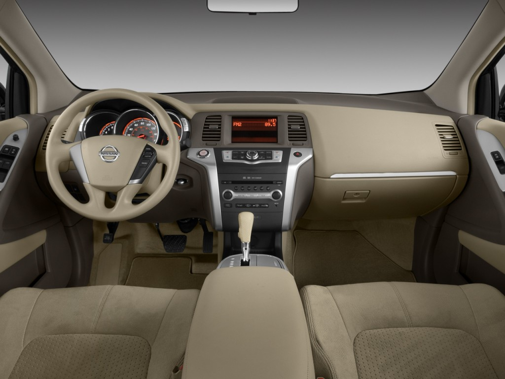 Image 2009 Nissan Murano 2wd 4 Door S Dashboard Size