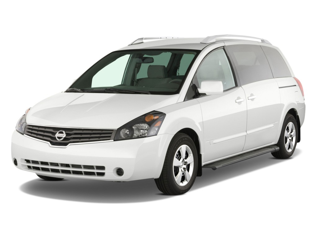 2009 Nissan Quest 4-door S Angular Front Exterior View