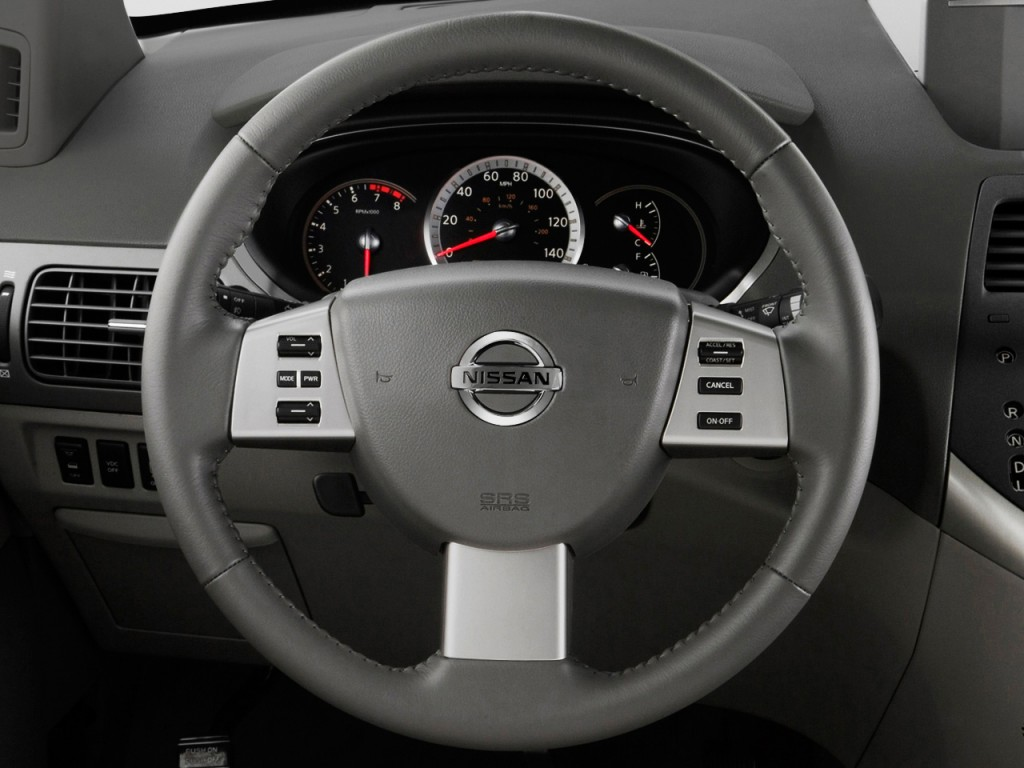 Image 2009 Nissan Quest 4 Door Se Steering Wheel Size