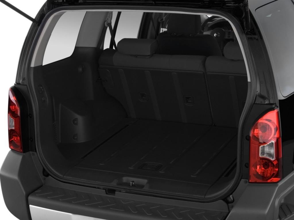 Image: 2009 Nissan Xterra 2WD 4-door Auto S Trunk, size ...