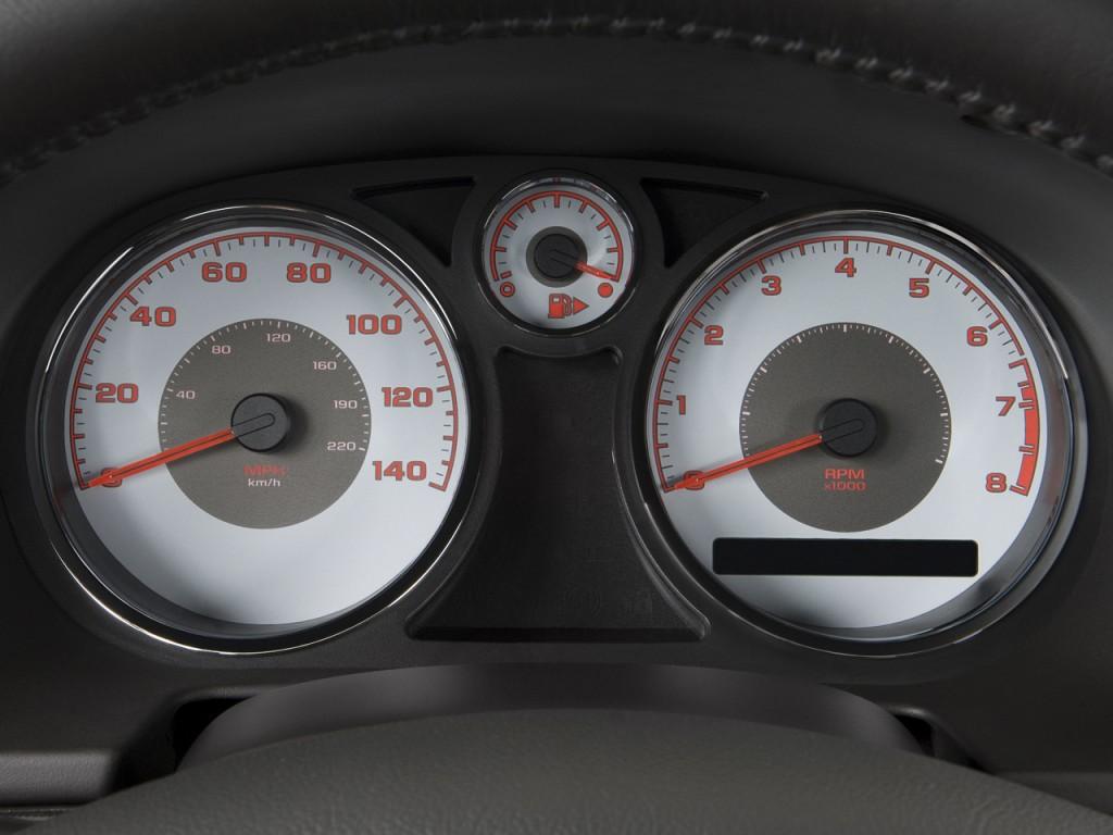 Image 2009 Pontiac G5 2 Door Coupe Gt Instrument Cluster