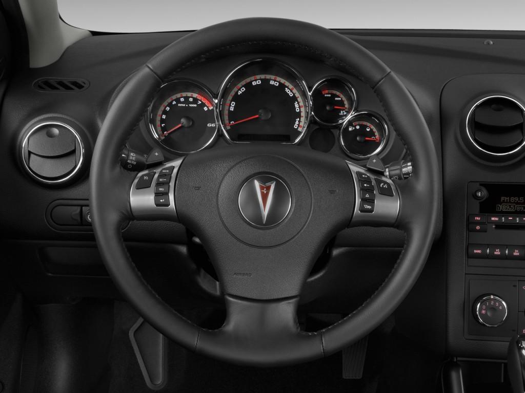 Image 2009 Pontiac G6 4 Door Sedan W 1sv Steering Wheel