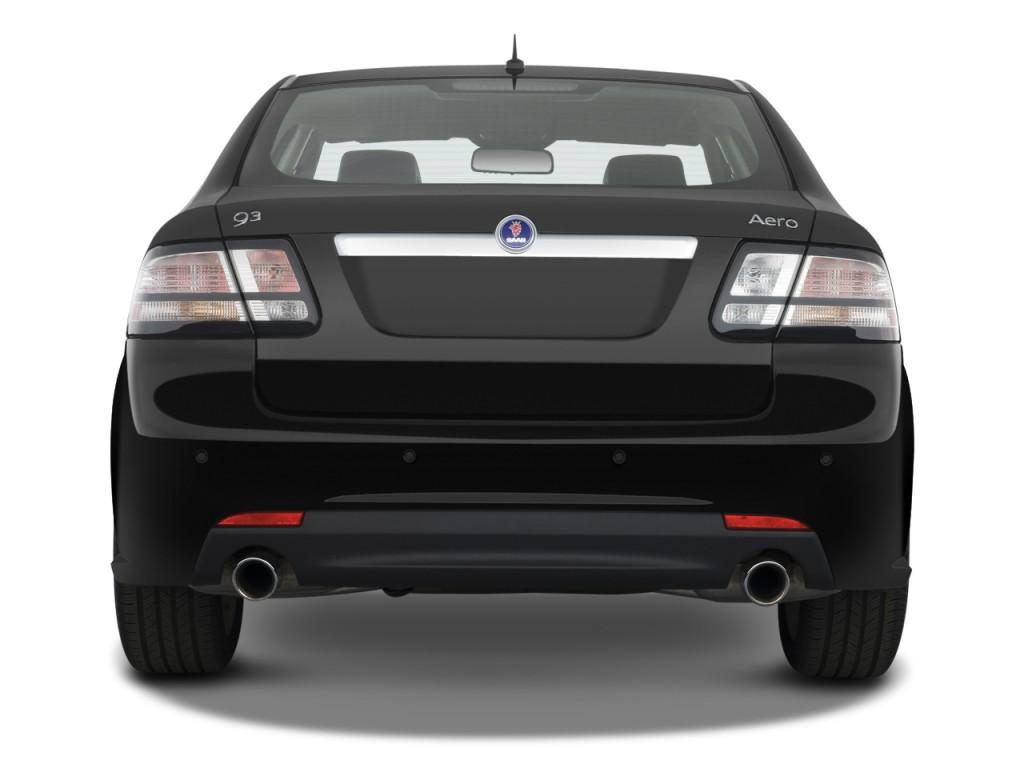 image 2009 saab 9 3 4 door sedan 2 0t touring rear. Black Bedroom Furniture Sets. Home Design Ideas
