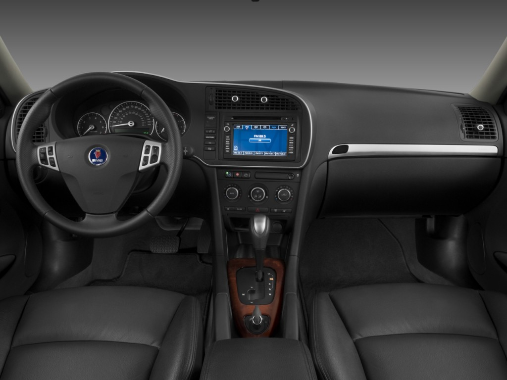 image 2009 saab 9 3 4 door wagon 2 0t sport dashboard. Black Bedroom Furniture Sets. Home Design Ideas