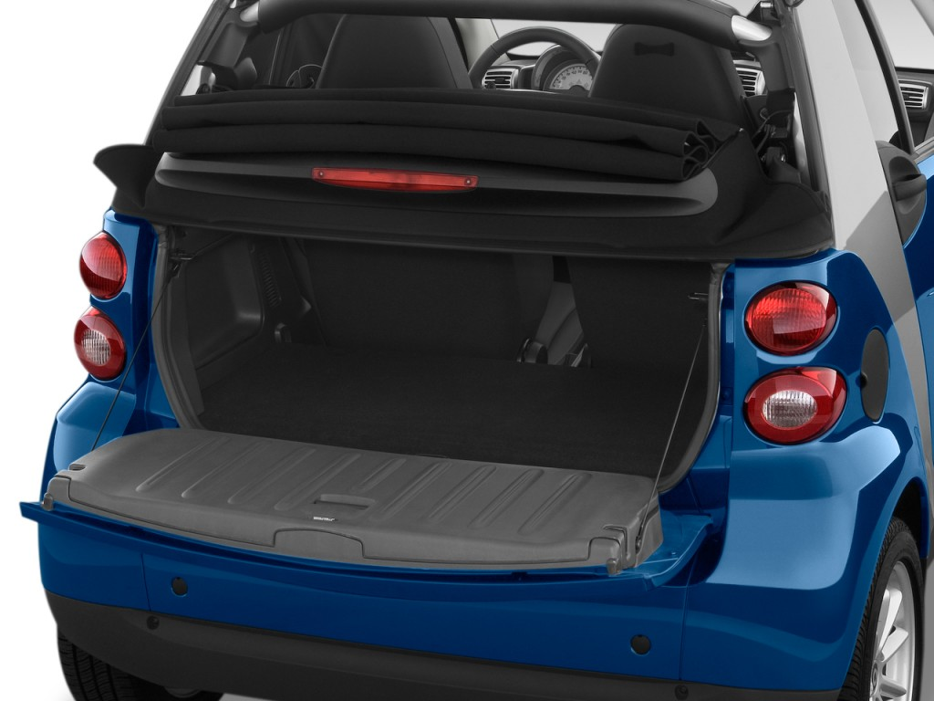 image 2009 smart fortwo 2 door cabriolet passion trunk size 1024 x 768 type gif posted on. Black Bedroom Furniture Sets. Home Design Ideas