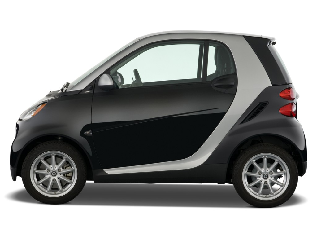 2009 Smart fortwo 2-door Coupe Passion Side Exterior View
