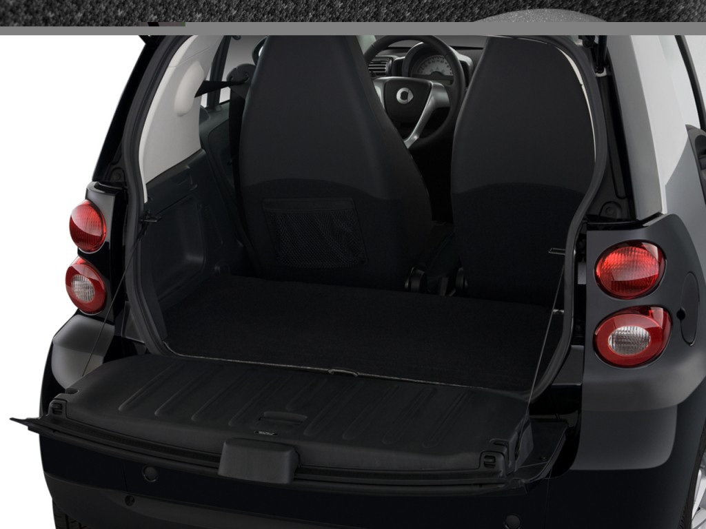 image 2009 smart fortwo 2 door coupe passion trunk size 1024 x 768 type gif posted on. Black Bedroom Furniture Sets. Home Design Ideas