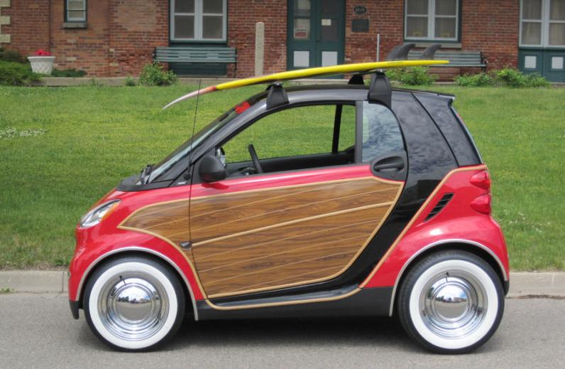 Heinous Car Pic of the Day: Pimped-Out Smart ForTwo Woody