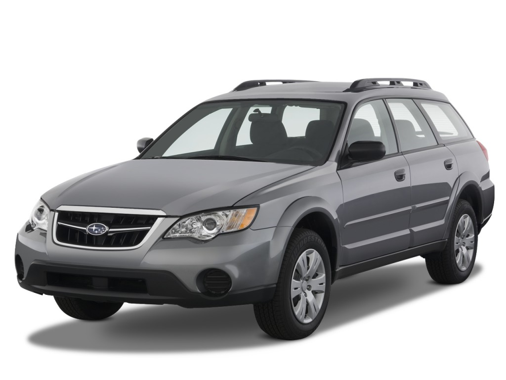 Image 2009 Subaru Outback 4 Door H4 Auto Angular Front Exterior View Size 1024 X 768 Type
