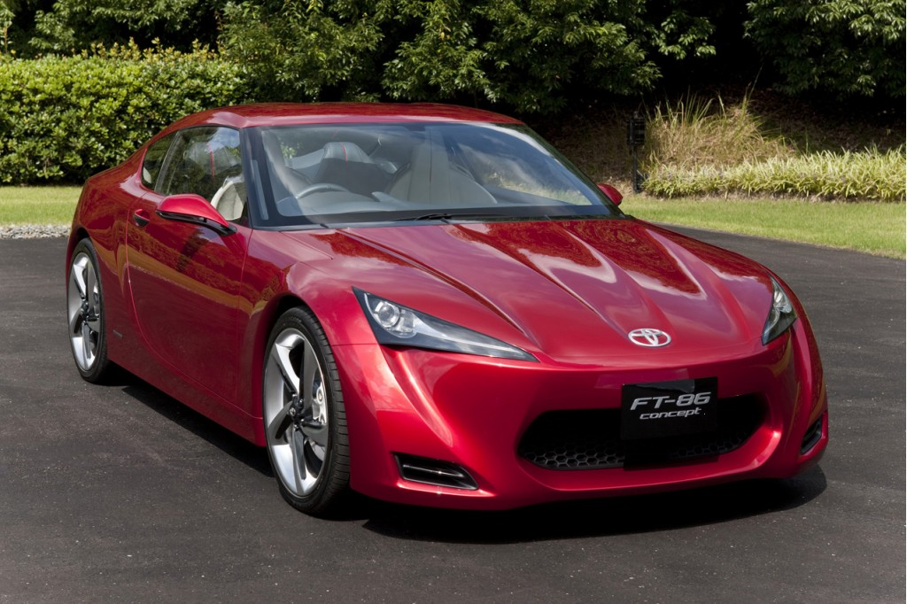2009 Toyota FT-86 Concept