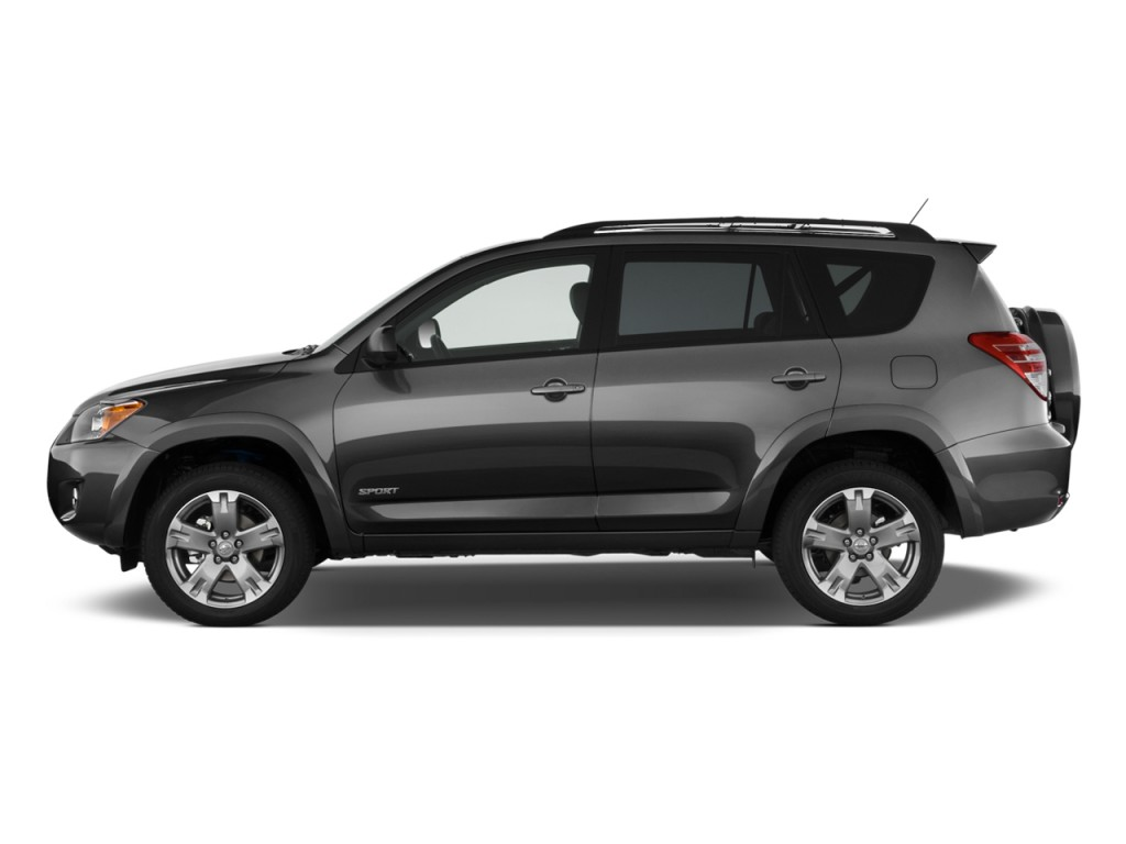 2009 Toyota RAV4 FWD 4-door 4-cyl 4-Spd AT Sport (Natl) Side Exterior View