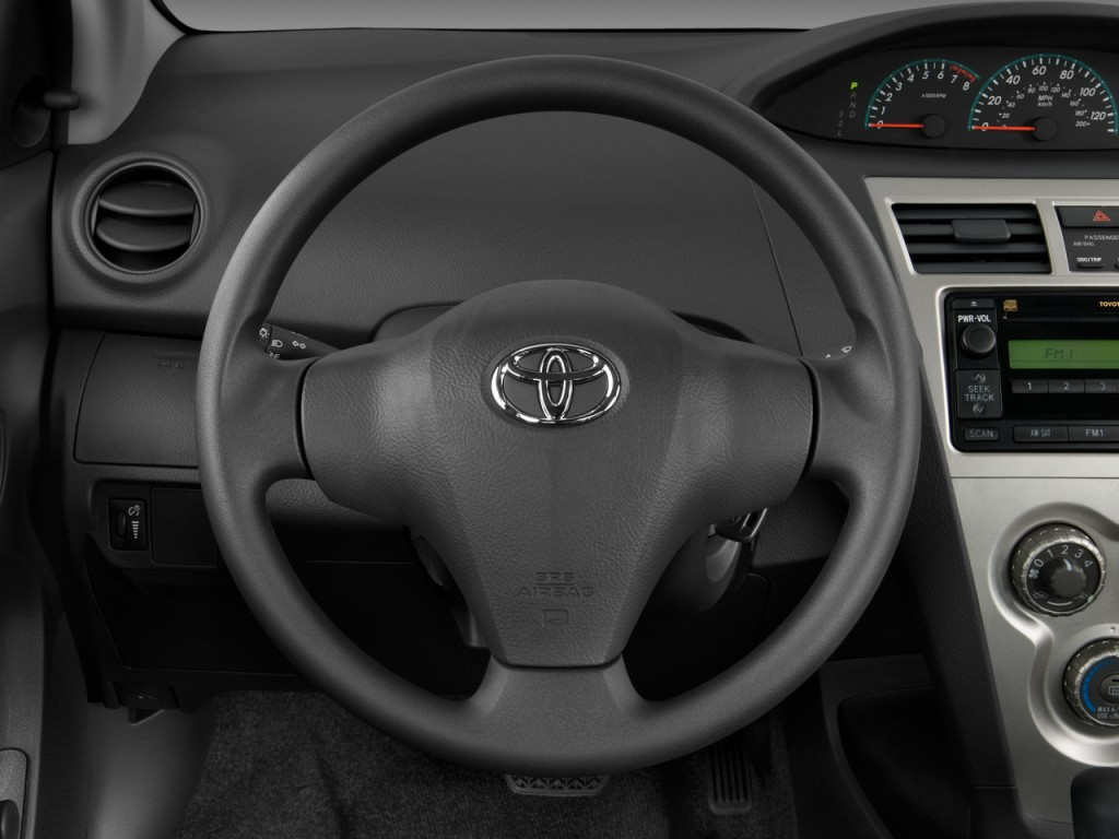 image 2009 toyota yaris 4 door sedan auto natl steering wheel size 1024 x 768 type gif. Black Bedroom Furniture Sets. Home Design Ideas