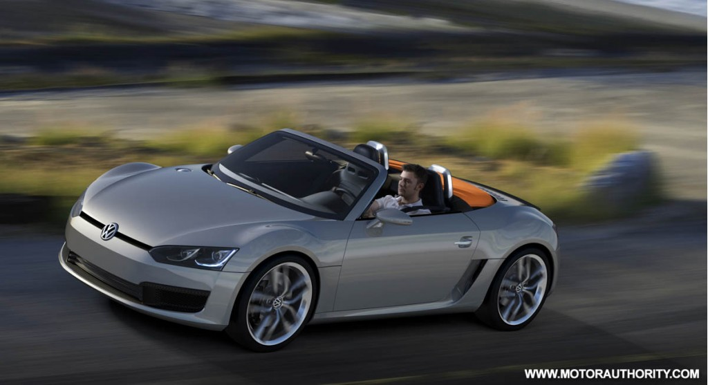 2009 volkswagen bluesport roadster concept 002