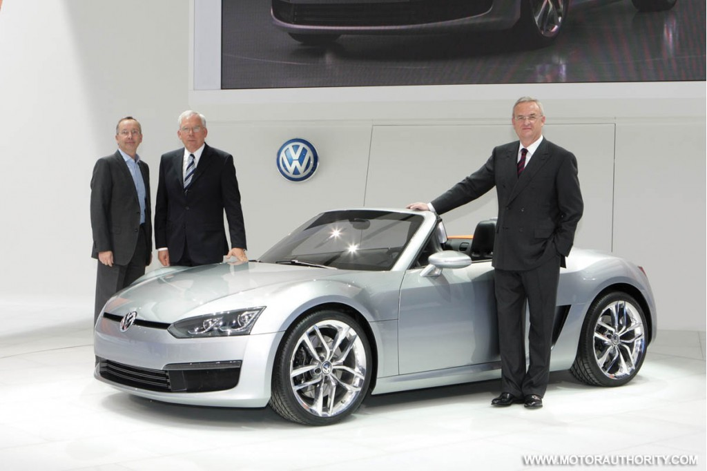 2009 volkswagen bluesport roadster concept 004