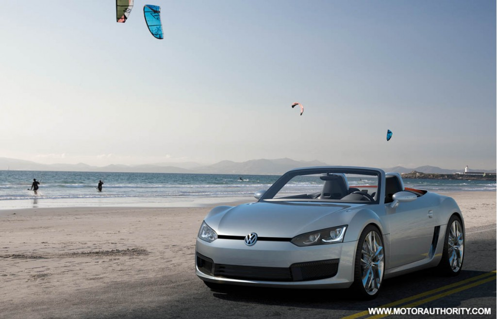 2009 volkswagen bluesport roadster concept 008
