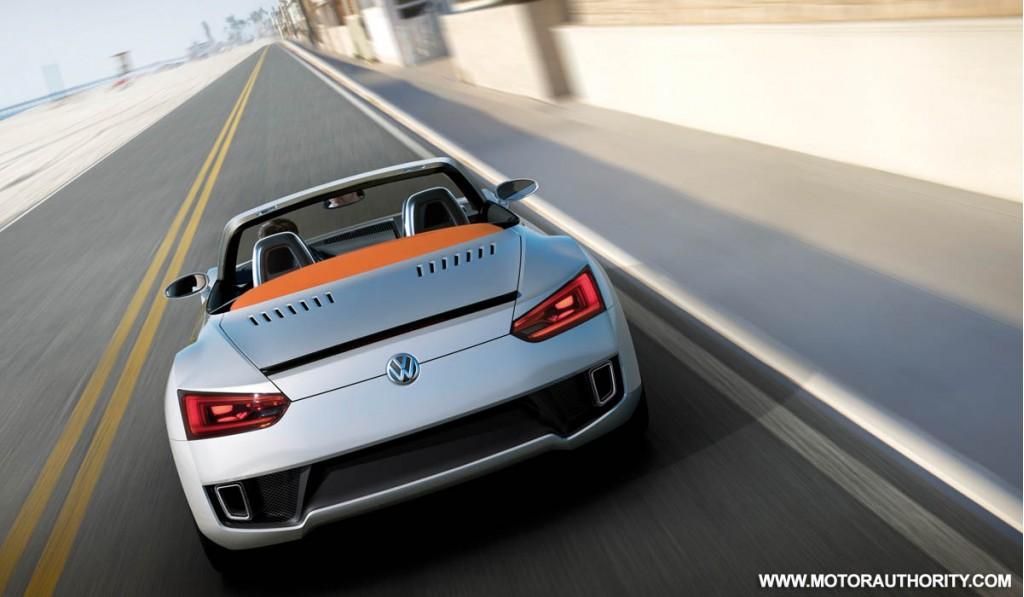 2009 volkswagen bluesport roadster concept 010