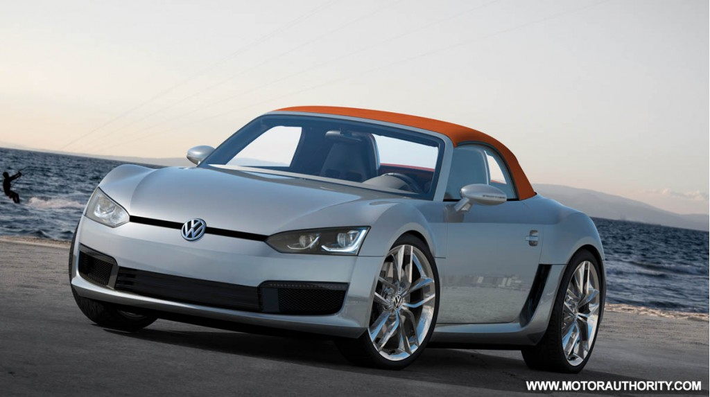 2009 volkswagen bluesport roadster concept 013