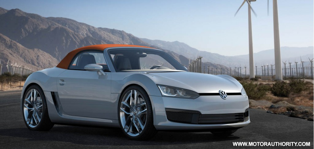 2009 volkswagen bluesport roadster concept 014