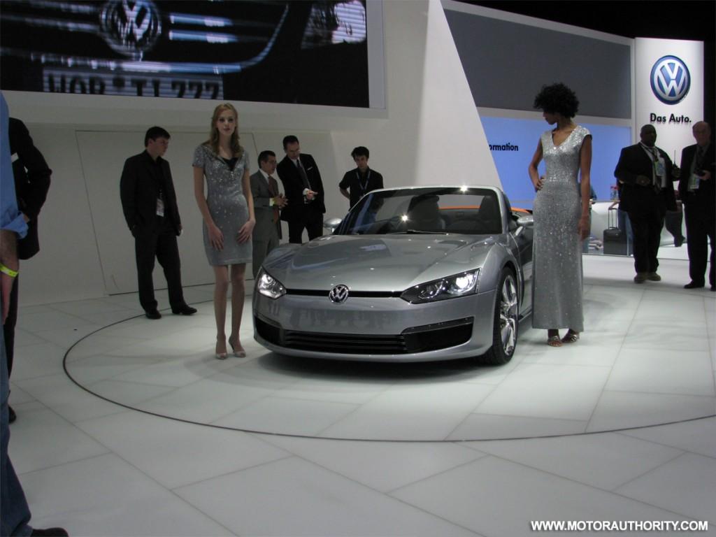 2009 volkswagen bluesport roadster concept live 06