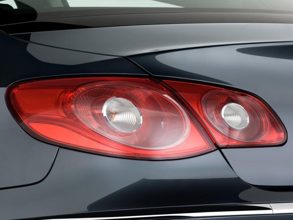 Image: 2009 Volkswagen CC 4-door Auto VR6 Sport Tail Light ...