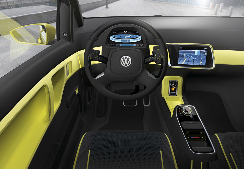 2009 Volkswagen E-Up! Concept